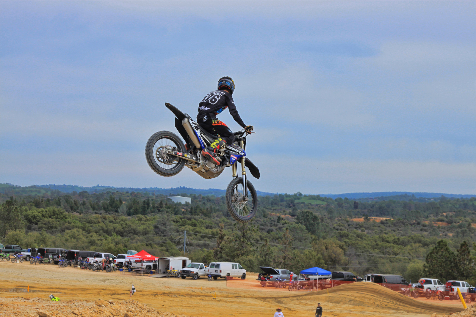 Ione Sands MX dropping back down to the sand - Harvdog21 - Motocross Pictures - Vital MX