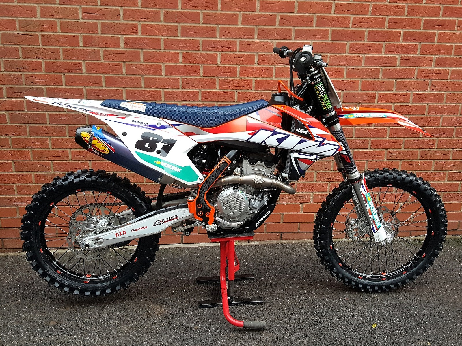 ktm 250 sx-f - locky - motocross pictures - vital mx