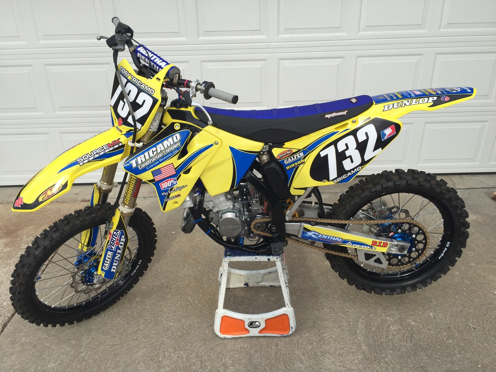 2004 Rm 125 Parts – Billy Knight