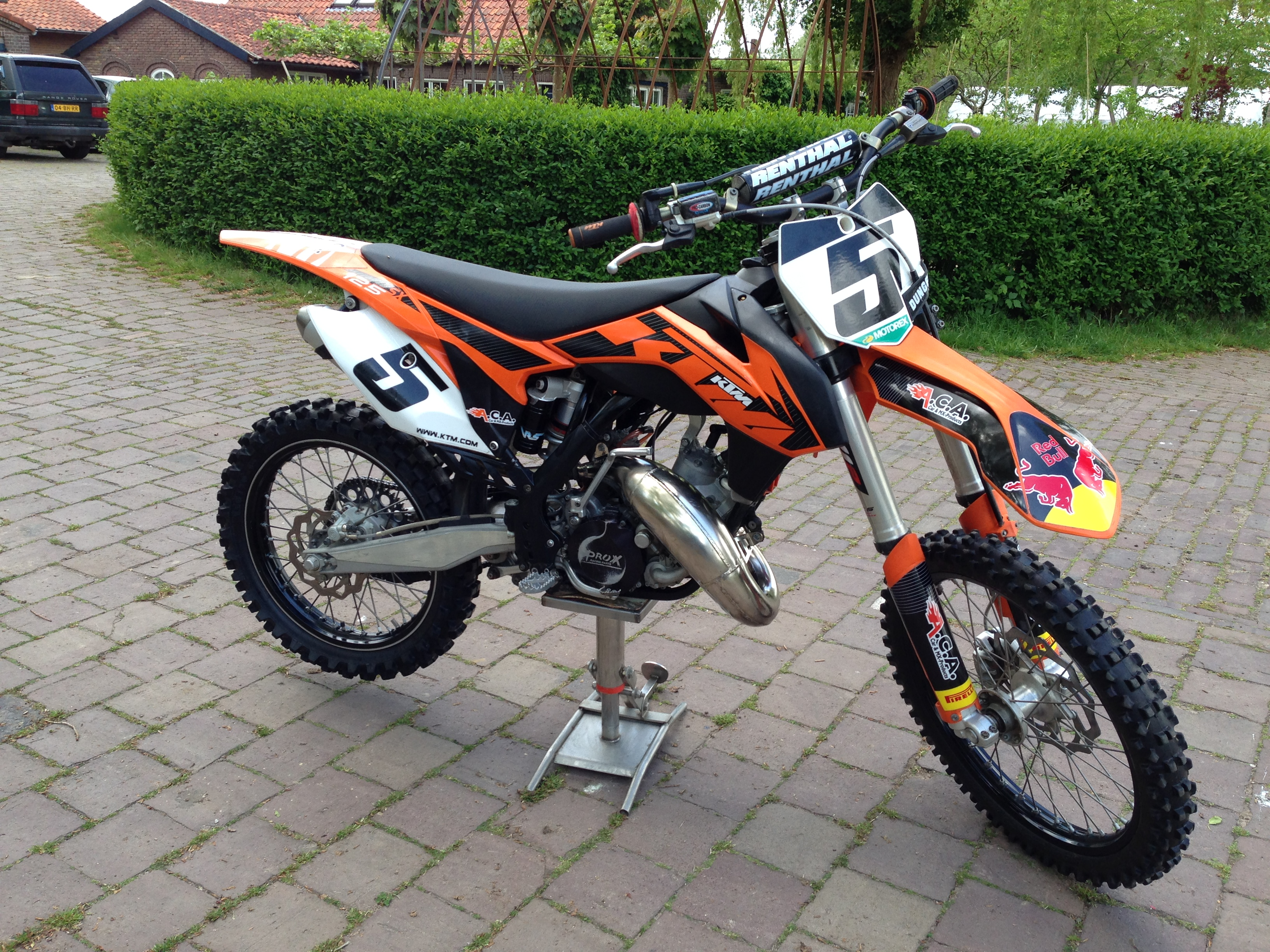 ktm 125 sx 2012 red bull kruijsbergen 4 39 s bike check. Black Bedroom Furniture Sets. Home Design Ideas