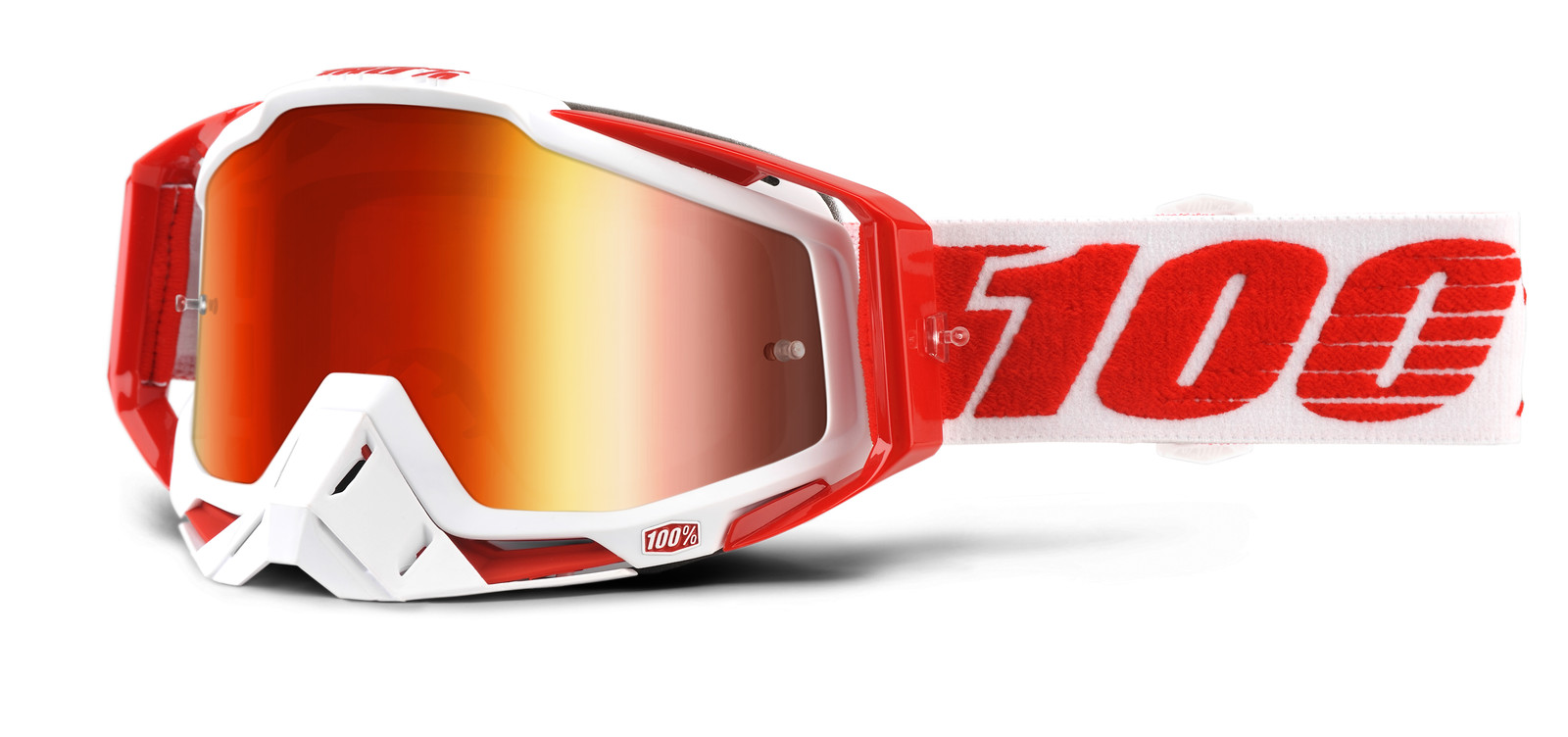 Racecraft Bilal Goggle - Mirror Red Lens - 100percent - Motocross Pictures - Vital MX
