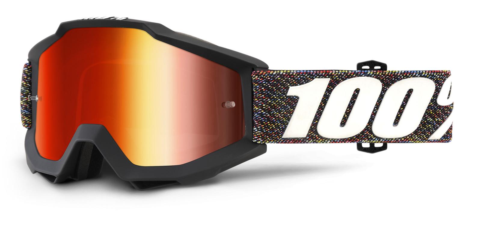 Accuri Krick Goggle - Mirror Red Lens - 100percent - Motocross Pictures - Vital MX