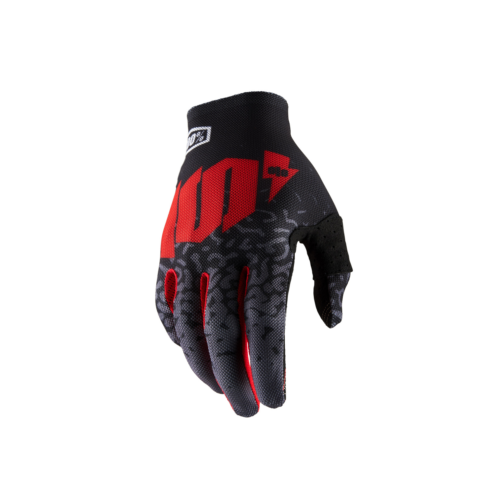 Celium 2 Glove - Metal / Black - 100percent - Motocross Pictures - Vital MX