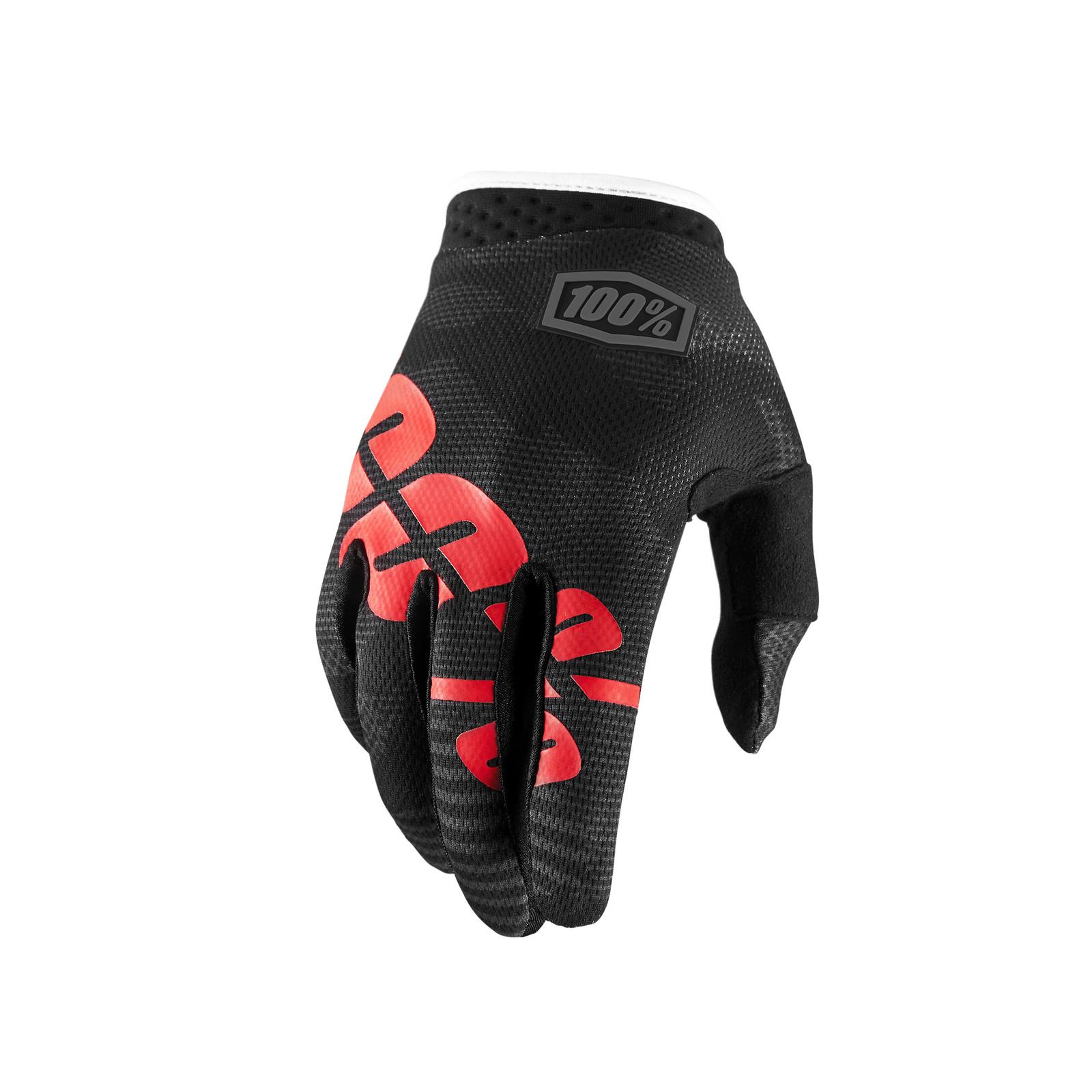 iTrack Glove - Black / Camo - 100percent - Motocross Pictures - Vital MX