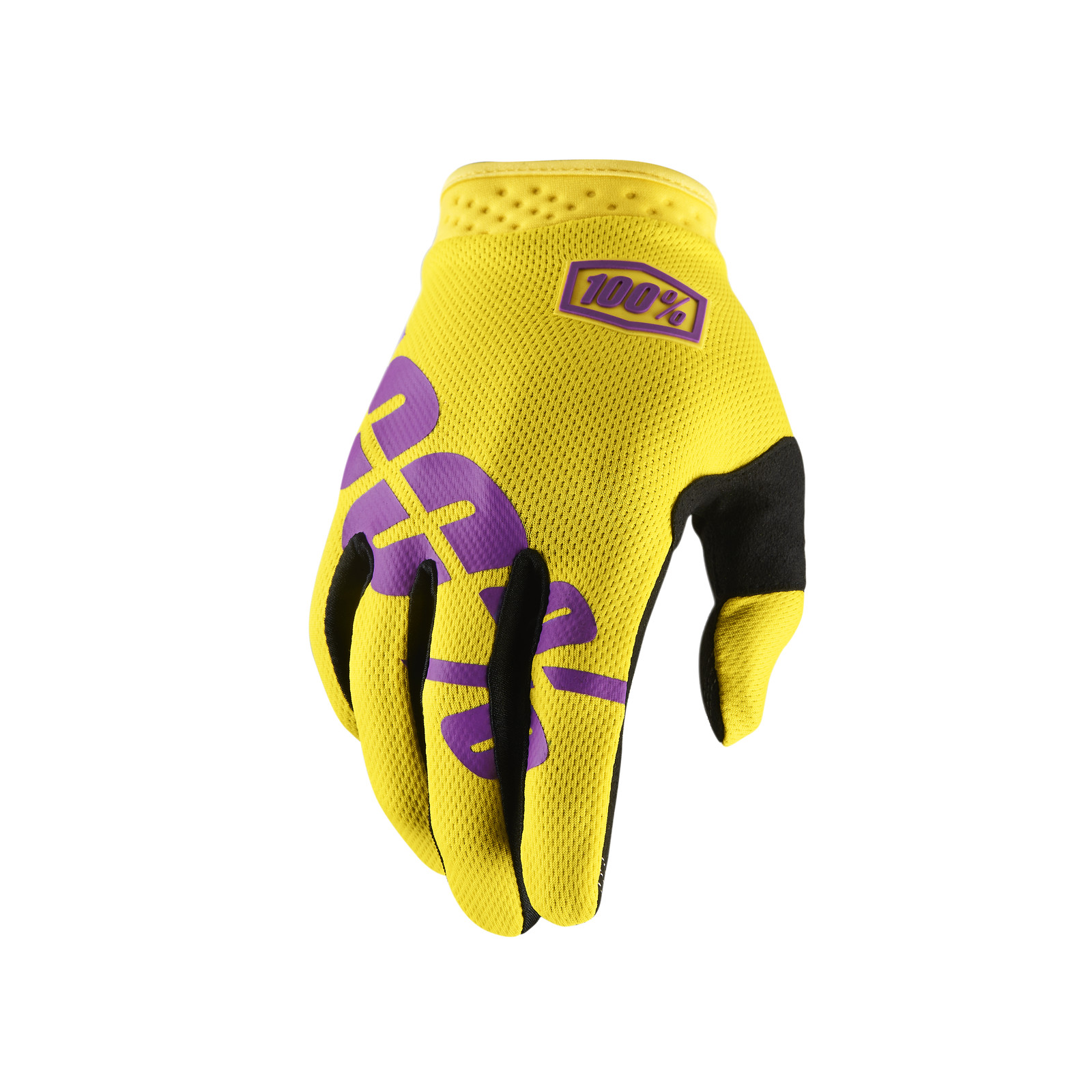 iTrack Glove - Yellow - 100percent - Motocross Pictures - Vital MX