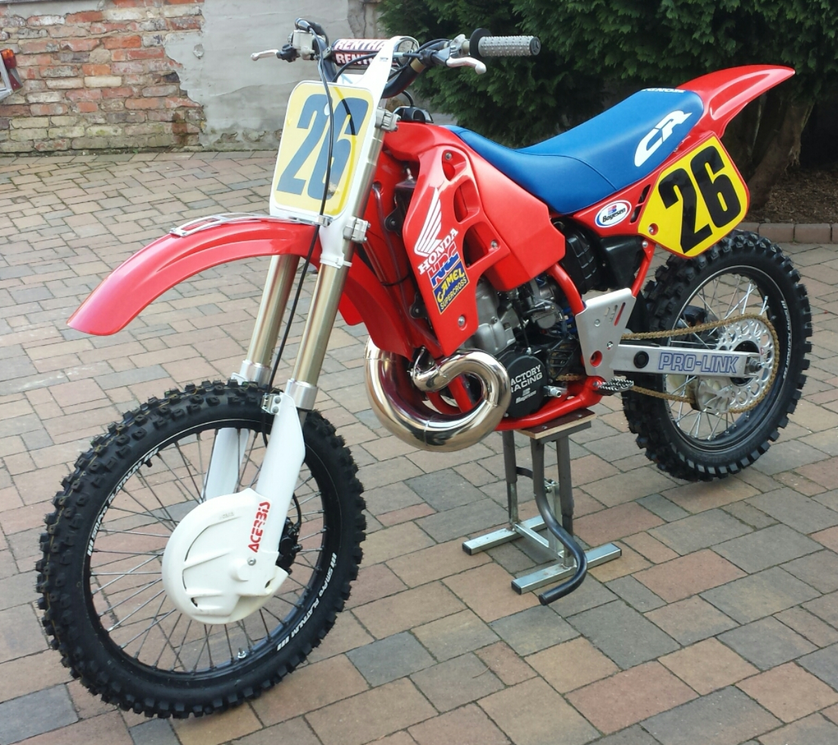 1989 honda cr 500 robin 48 39 s bike check vital mx. Black Bedroom Furniture Sets. Home Design Ideas