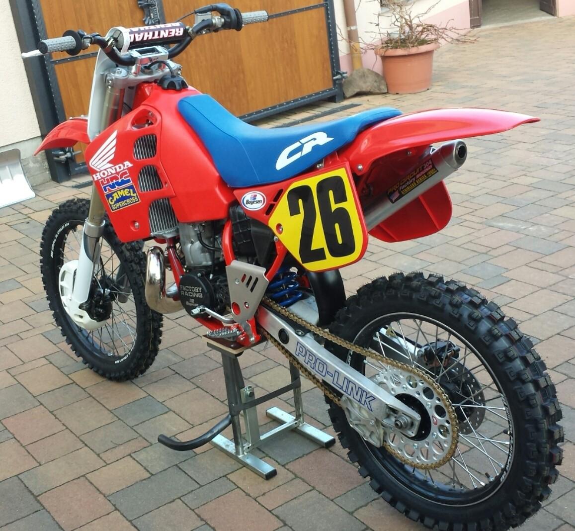 1989 honda cr 500 robin 48 39 s bike check vital mx for Honda cr 500