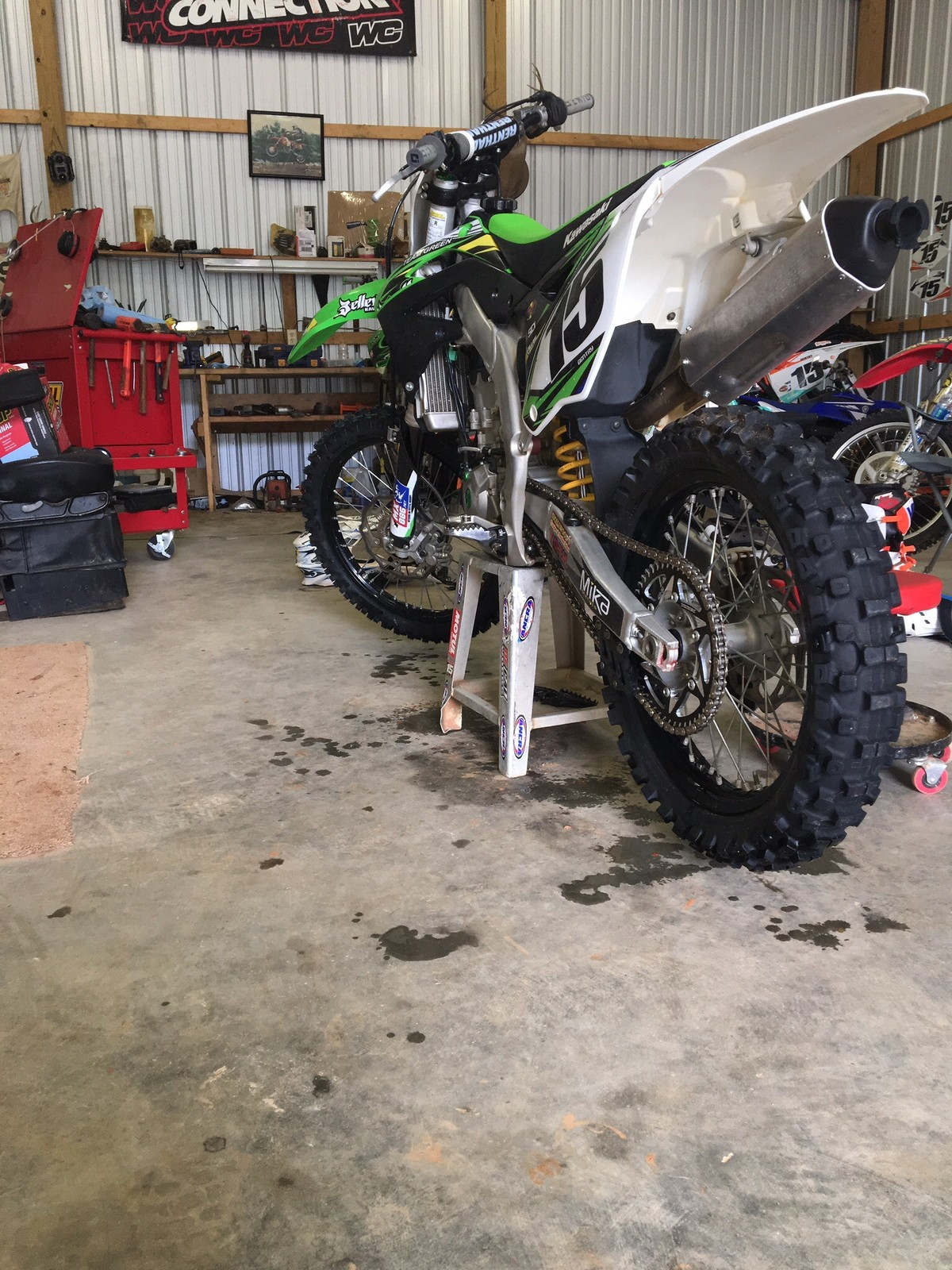 2015 kx 450, 50 hours very well taken care of
