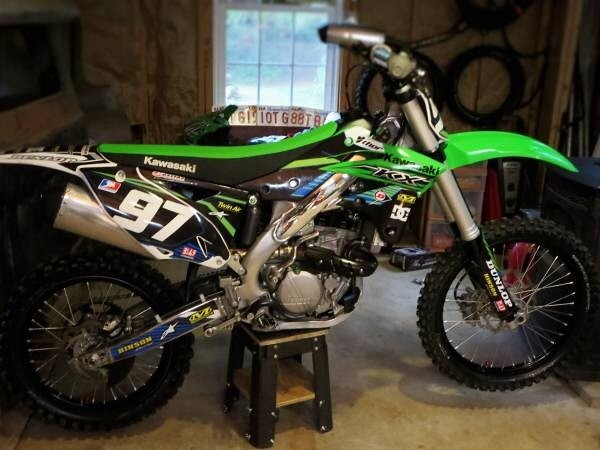 2015 kx250f done by JK's barnyard detail In ware ma 4135448711 call or text to get your bike detailed
