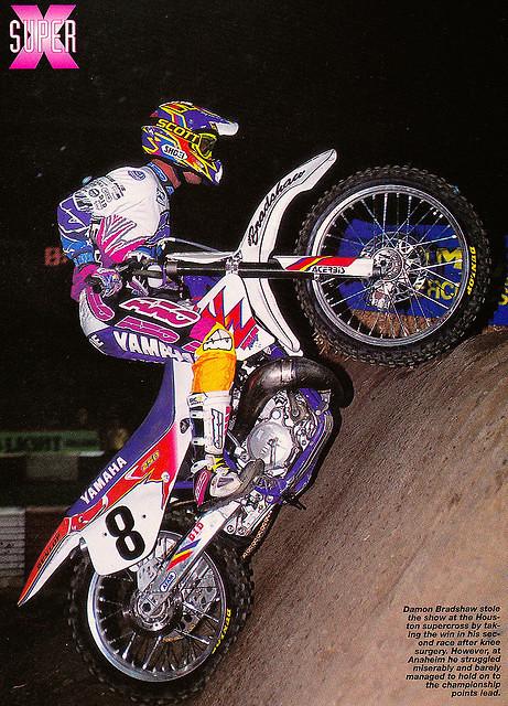 Bradshaw YZ250 1993 - PJJ - Motocross Pictures - Vital MX