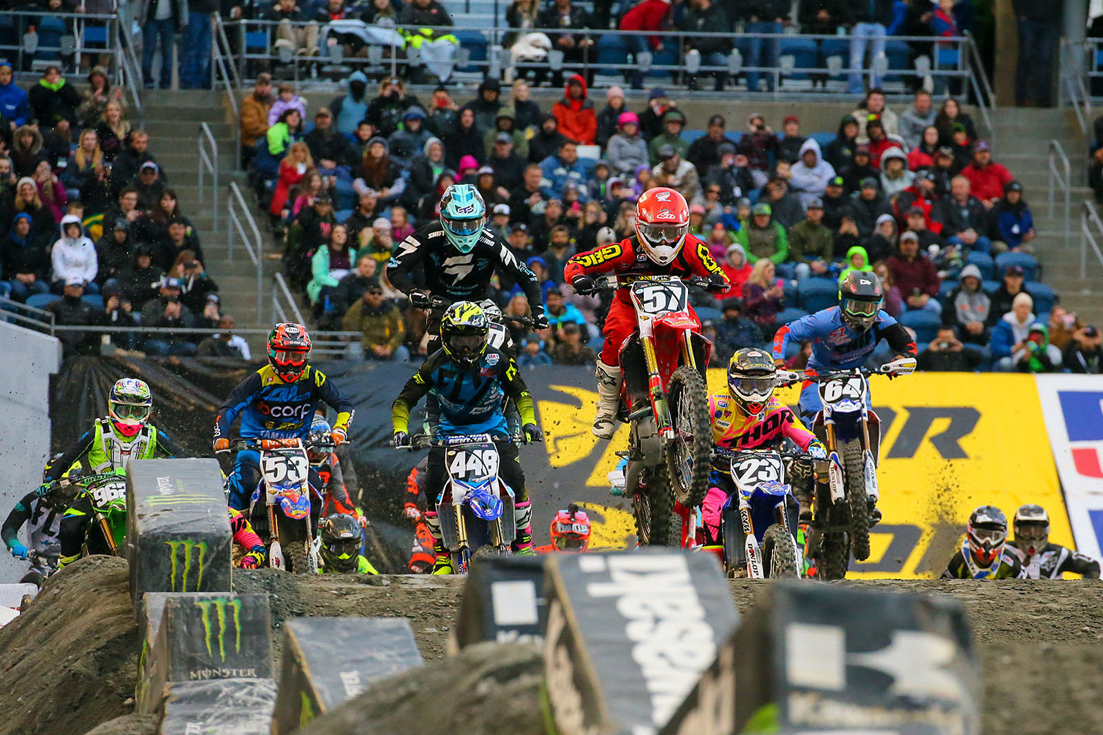 Photo Blast from Seattle, and Jimmy DeCotis goes to the front - Photo Blast: Seattle - Motocross Pictures - Vital MX