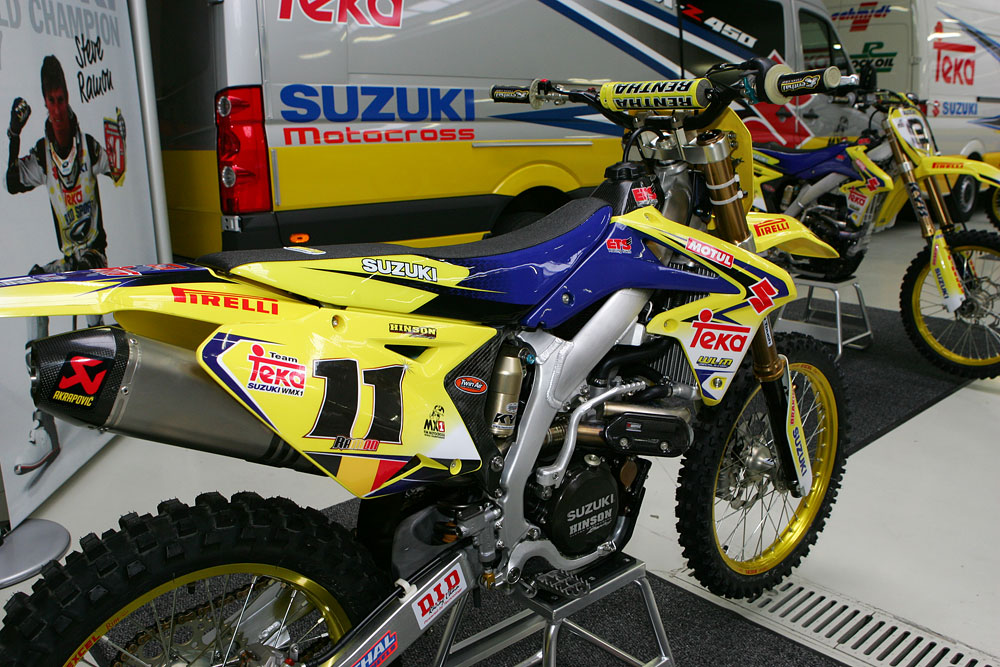 team teka suzuki wmx1 13 suzuki grand prix motocross. Black Bedroom Furniture Sets. Home Design Ideas