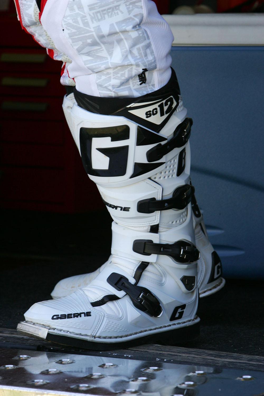 Gaerne Boots Sg12 >> Gaerne SG12 - Vital MX Pit Bits: Las Vegas SX Press Day - Motocross Pictures - Vital MX