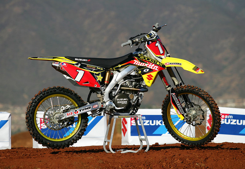 Chad Reed Joins Rockstar Makita Suzuki - Motocross Pictures - Vital MX