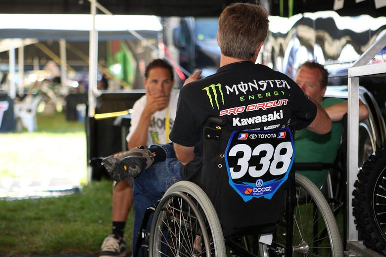 Mitch Payton - Vital MX Pit Bits: Millville 2008 - Motocross Pictures - Vital MX