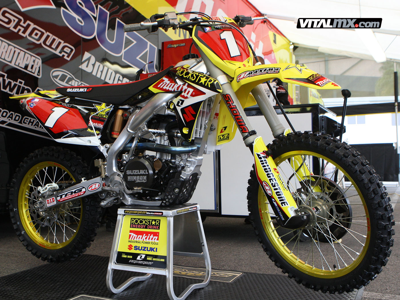 ryan dungey's rockstar makita suzuki - the big picture: bring on