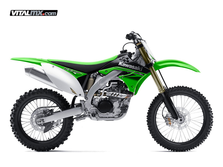 2010 Kawasaki KX450F - 2010 Kawasaki KX Models - Motocross Pictures - Vital MX