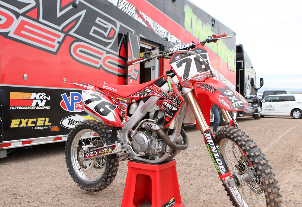 Red Seven Ride Co. - Las Vegas Supercross Privateer Challenge Presented by Hart & Huntington - Motocross Pictures - Vital MX