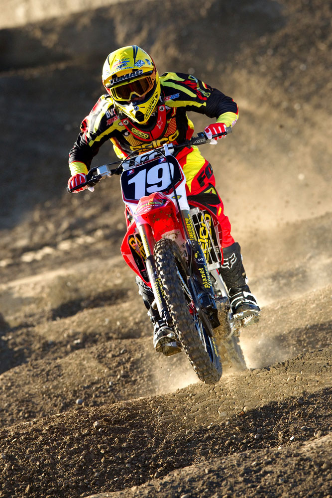 Eli Tomac 2011 Geico Honda Team Photos Motocross