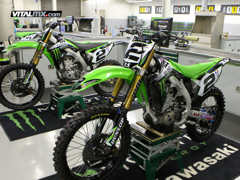 Kawasaki Fuel Injected Dirtbike
