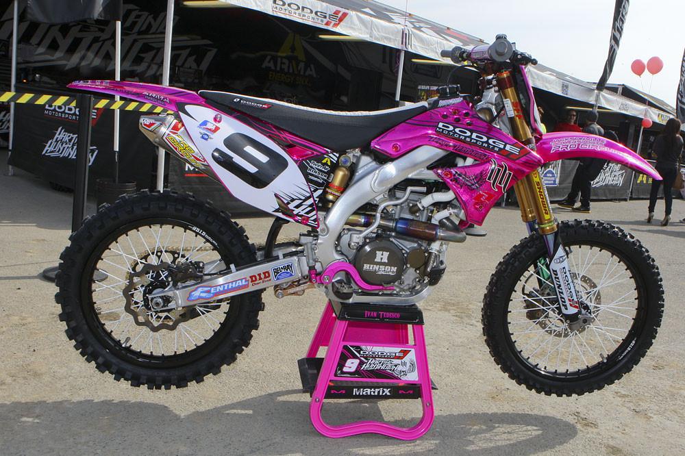 Ivan Tedesco - Vital MX Pit Bits: Anaheim 2 2011 - Motocross Pictures - Vital MX