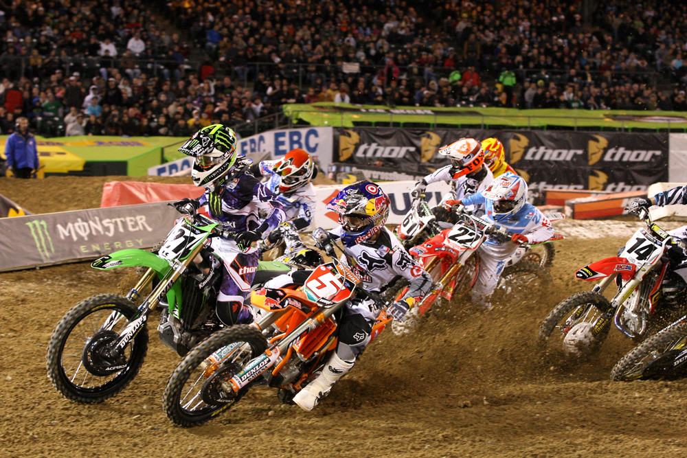 Supercross heat race one - Photo Blast: Oakland 2012 - Motocross Pictures - Vital MX