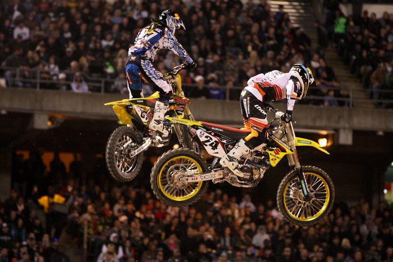 Matt Goerke and Brett Metcalfe - Photo Blast: Oakland 2012 - Motocross Pictures - Vital MX