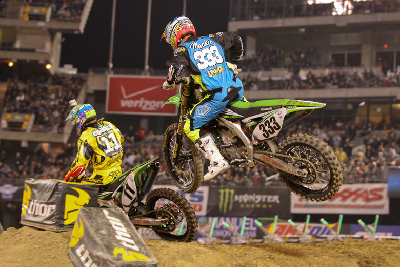 Kyle Chisholm and Cody Mackie - Photo Blast: Oakland 2012 - Motocross Pictures - Vital MX