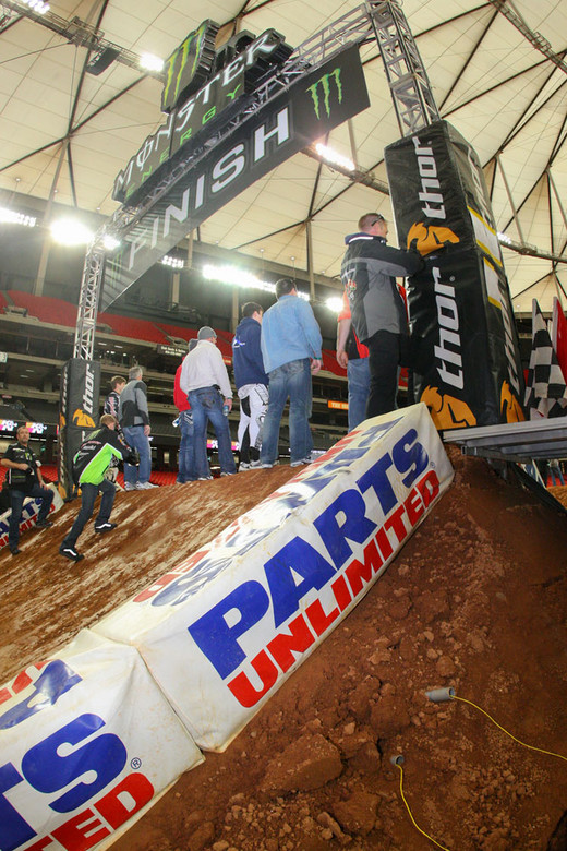 Finish line - Vital MX Pit Bits: Atlanta - Motocross Pictures - Vital MX