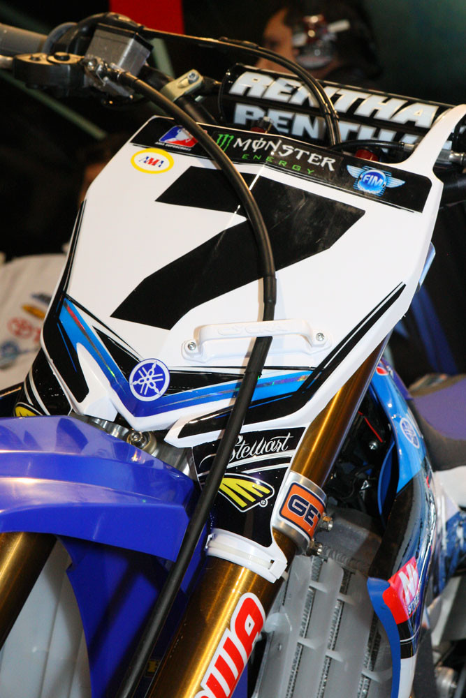 James Stewart - Vital MX Pit Bits: Atlanta - Motocross Pictures - Vital MX