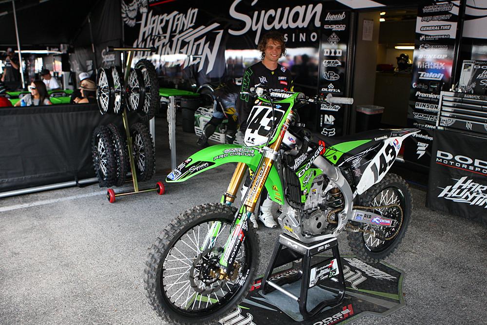 Mike Horban - Vital MX Pit Bits: Houston - Motocross Pictures - Vital MX