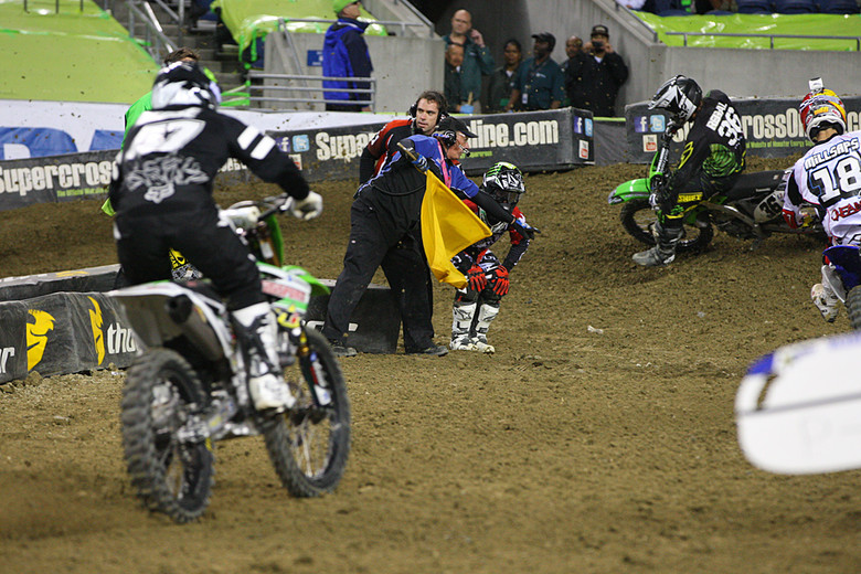Scenes like this, when Ryan Villopoto's season ended due to a torn ACL, were all too common this year.
