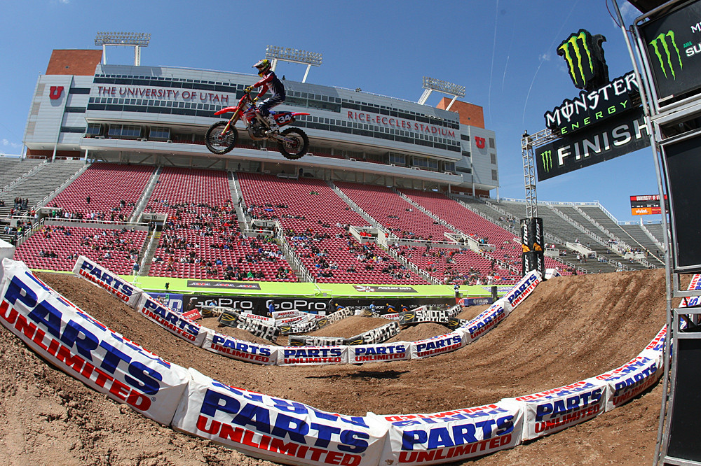 Cole Seely - Vital MX Pit Bits: Salt Lake City - Motocross Pictures - Vital MX