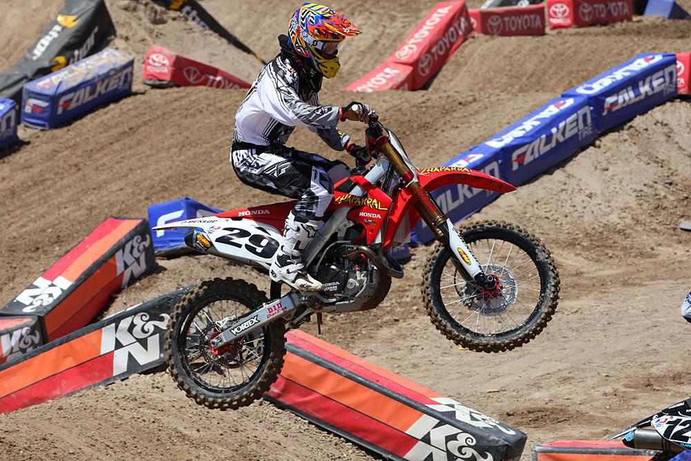 Andrew Short - Vital MX Pit Bits: Las Vegas - Motocross Pictures - Vital MX