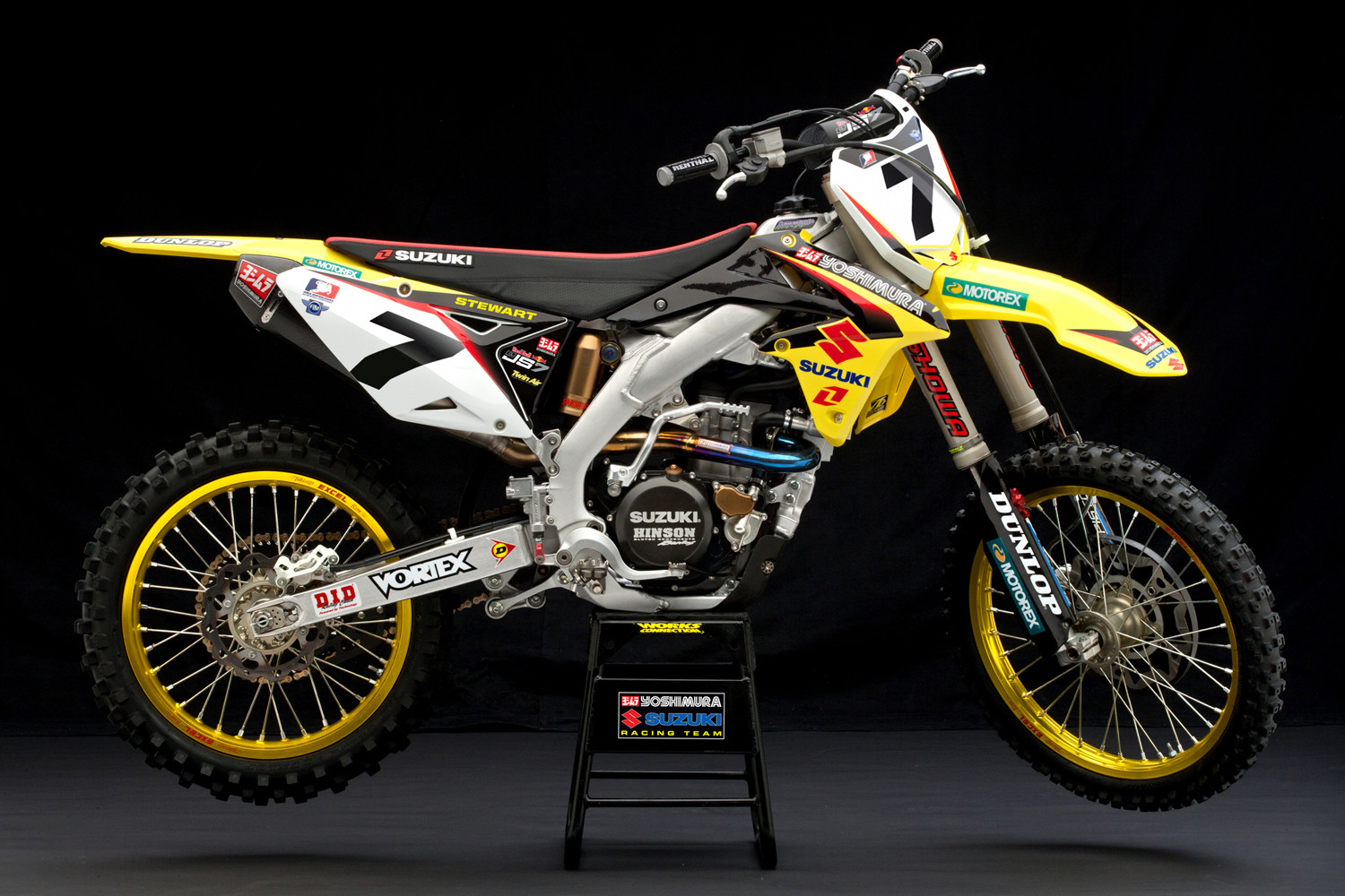 James Stewart/Team Yoshimura Suzuki Racing - First Look: James Stewart on Suzuki - Motocross Pictures - Vital MX