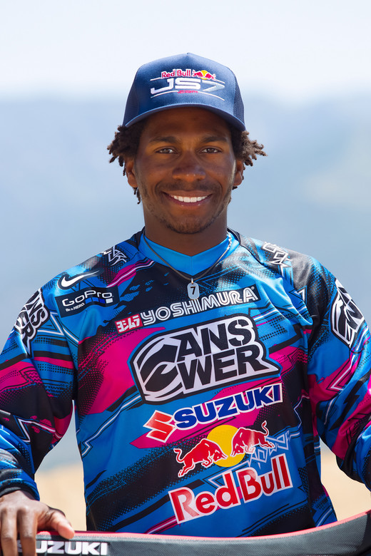 James Stewart - James Stewart Testing - Motocross Pictures - Vital MX