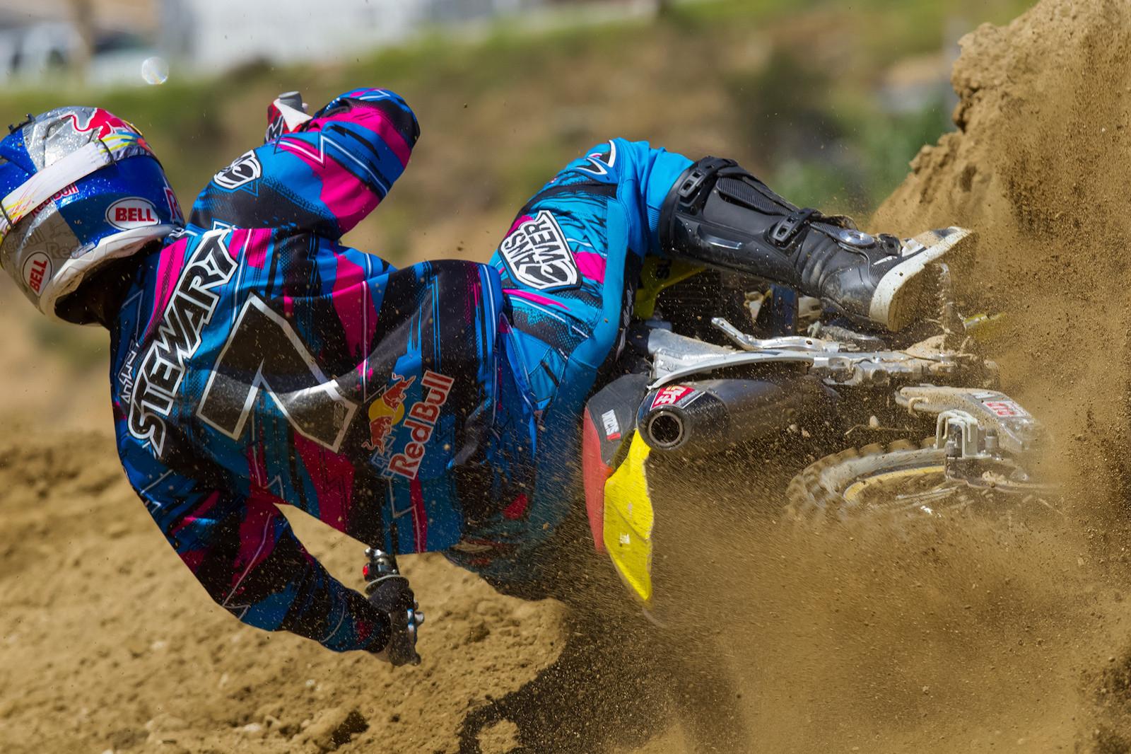 James Stewart - James Stewart Testing - Motocross Pictures - Vital MX