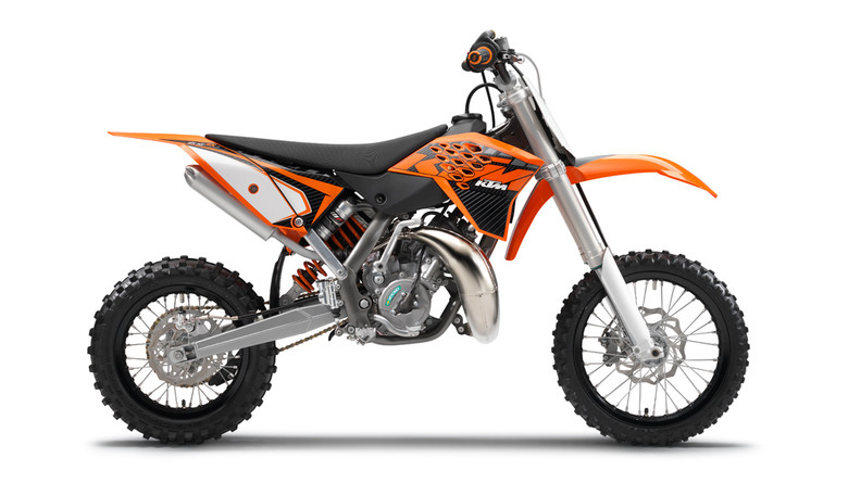 2013 KTM 65 SX - 2013 KTM Mini and SX Models - Motocross Pictures - Vital MX