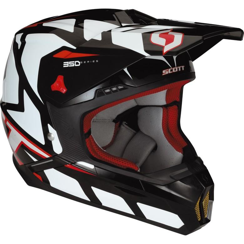 2013 Scott 350 Tread Helmet - 2013 Scott Sports Gear - Motocross Pictures - Vital MX