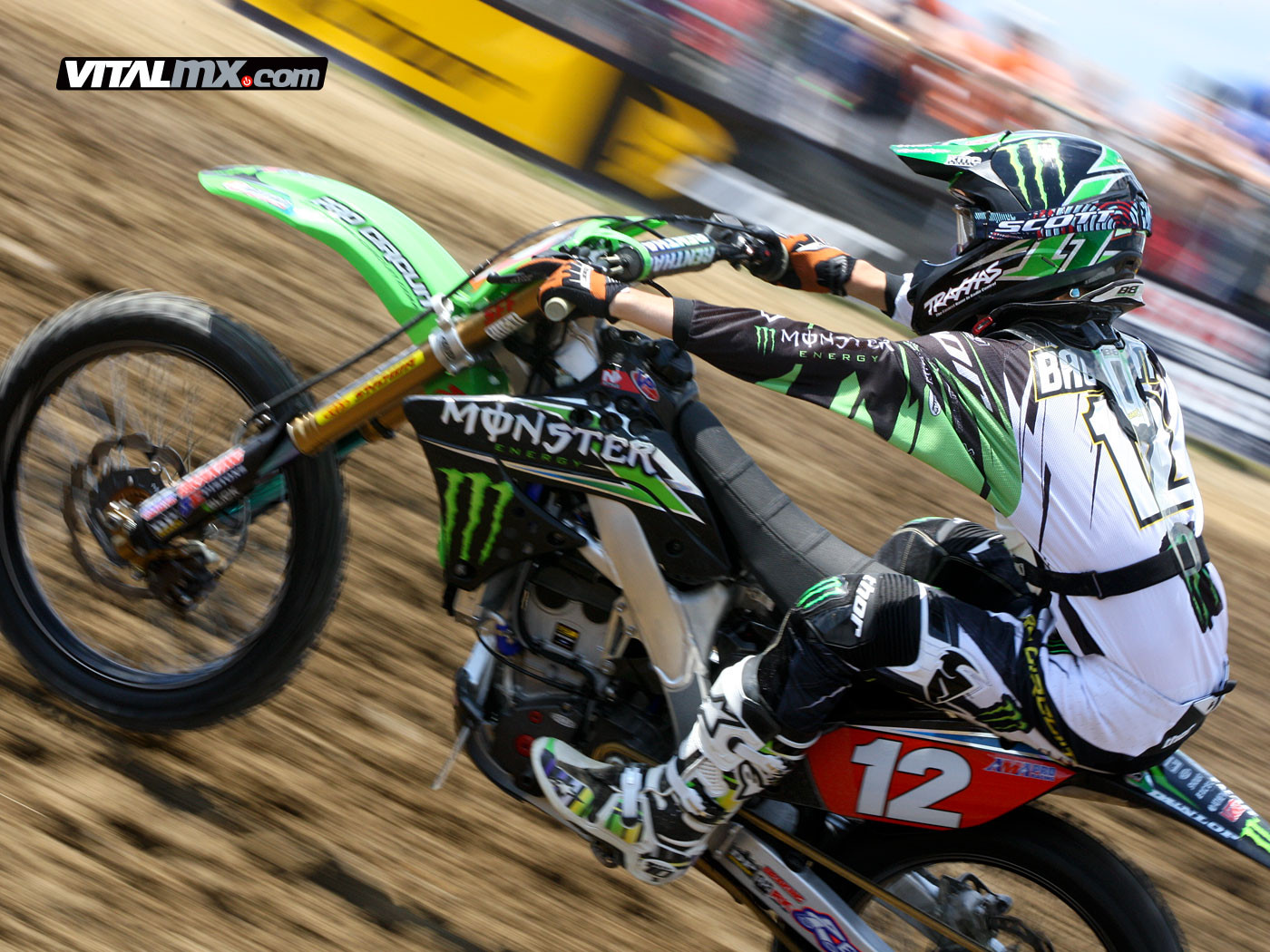 Blake Baggett - Pic 'o The Day: Blake Baggett - Motocross Pictures - Vital MX