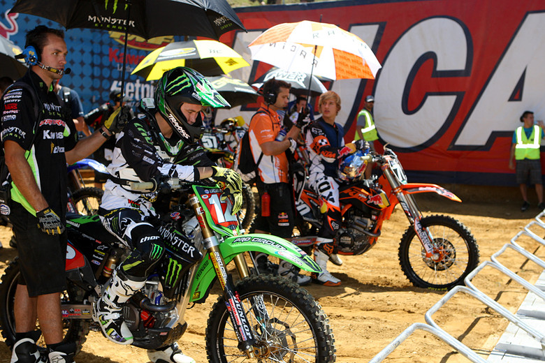 On the gate - Photo Blast: Budds Creek 2012 - Motocross Pictures - Vital MX
