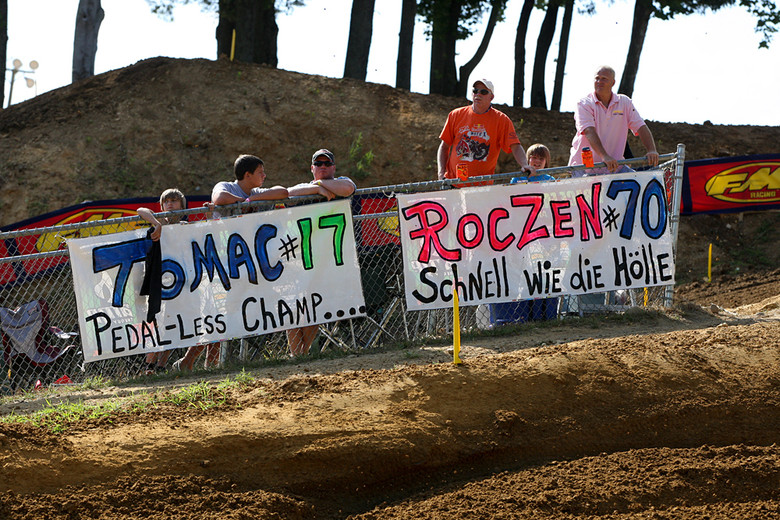 Signs - Vital MX Pit Bits: Budds Creek - Motocross Pictures - Vital MX