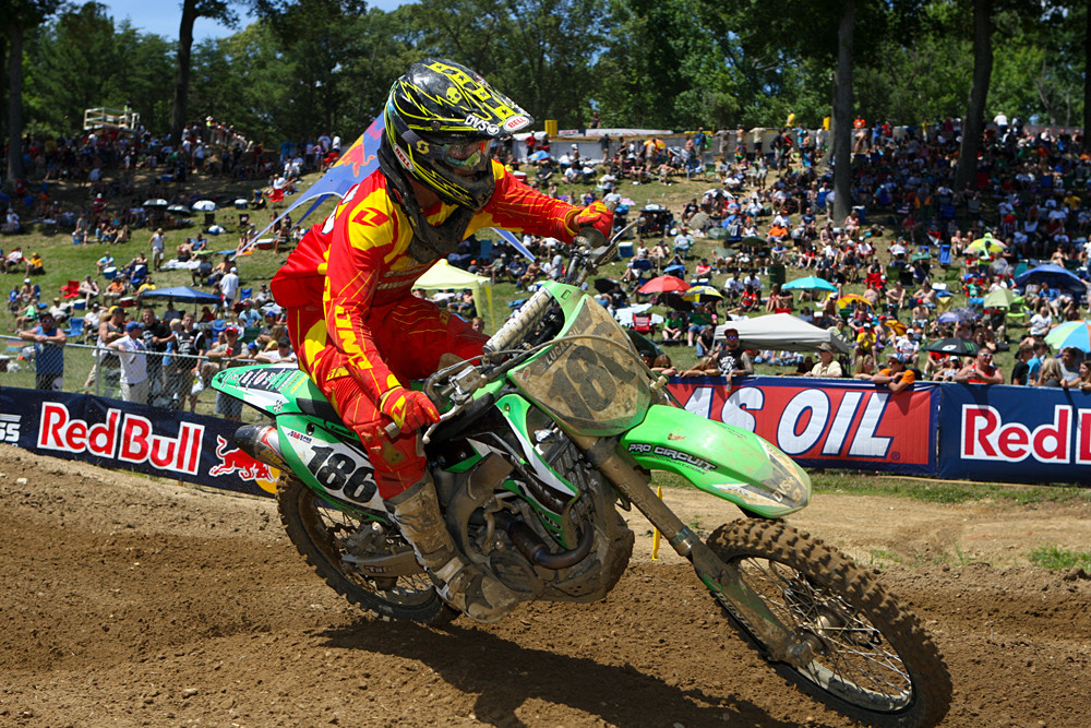 Sean Borkenhagen - Vital MX Pit Bits: Budds Creek - Motocross Pictures - Vital MX
