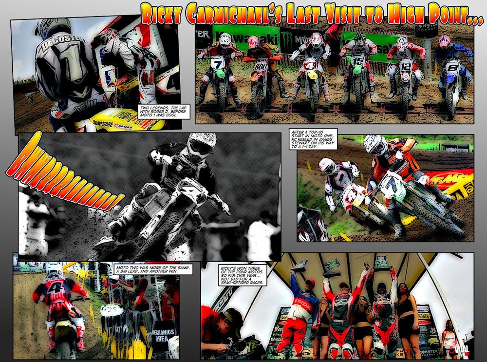2007 Nationals Comics High Point - 2007 Nationals Comics - Motocross Pictures - Vital MX
