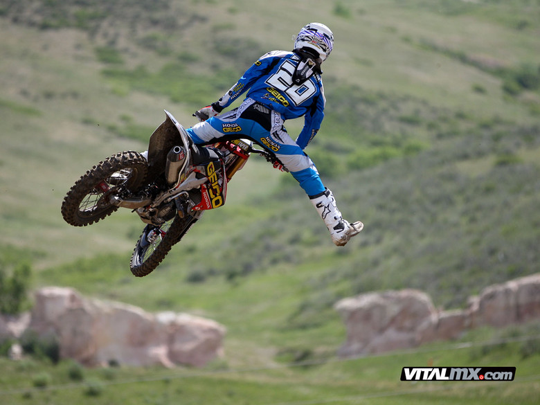 Pic o' The Day: Justin Barcia - Pic o' The Day: Justin Barcia - Motocross Pictures - Vital MX