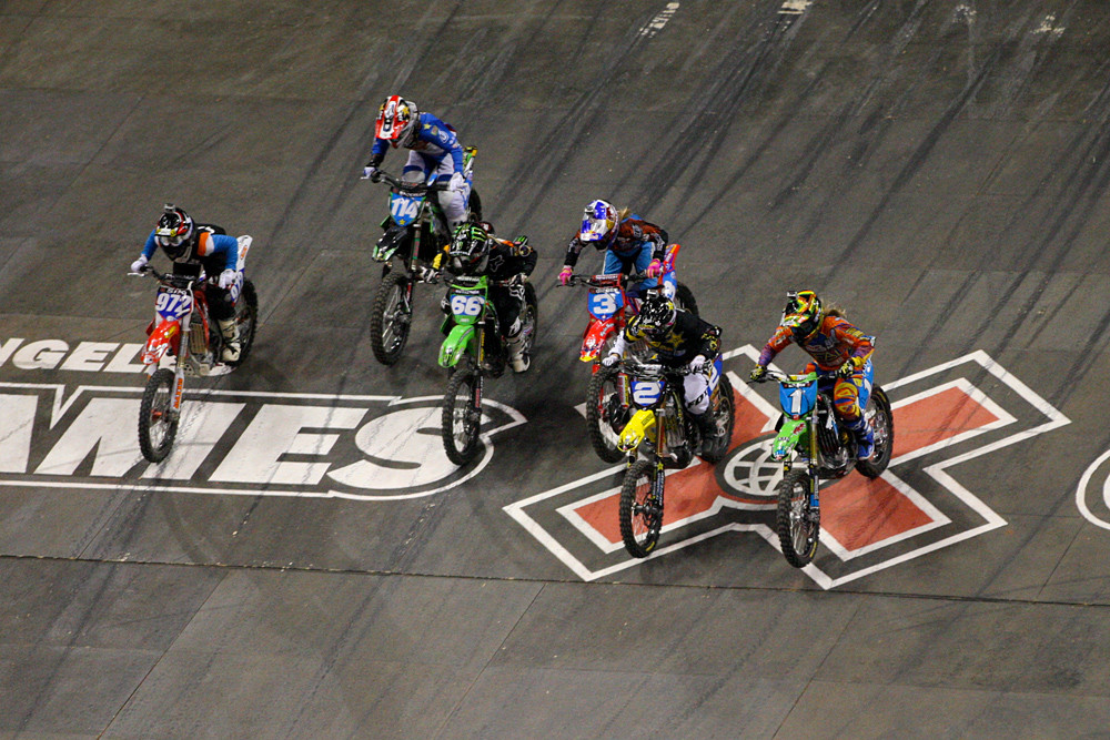 Out of the gate - X Games 2012: Women's Moto X Racing - Motocross Pictures - Vital MX