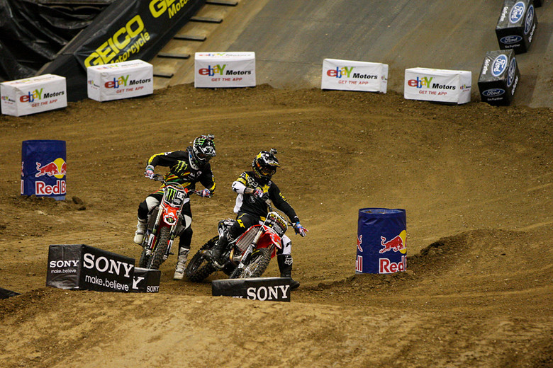 Mike Mason and Nate Adams - X Games 2012: Speed and Style - Motocross Pictures - Vital MX