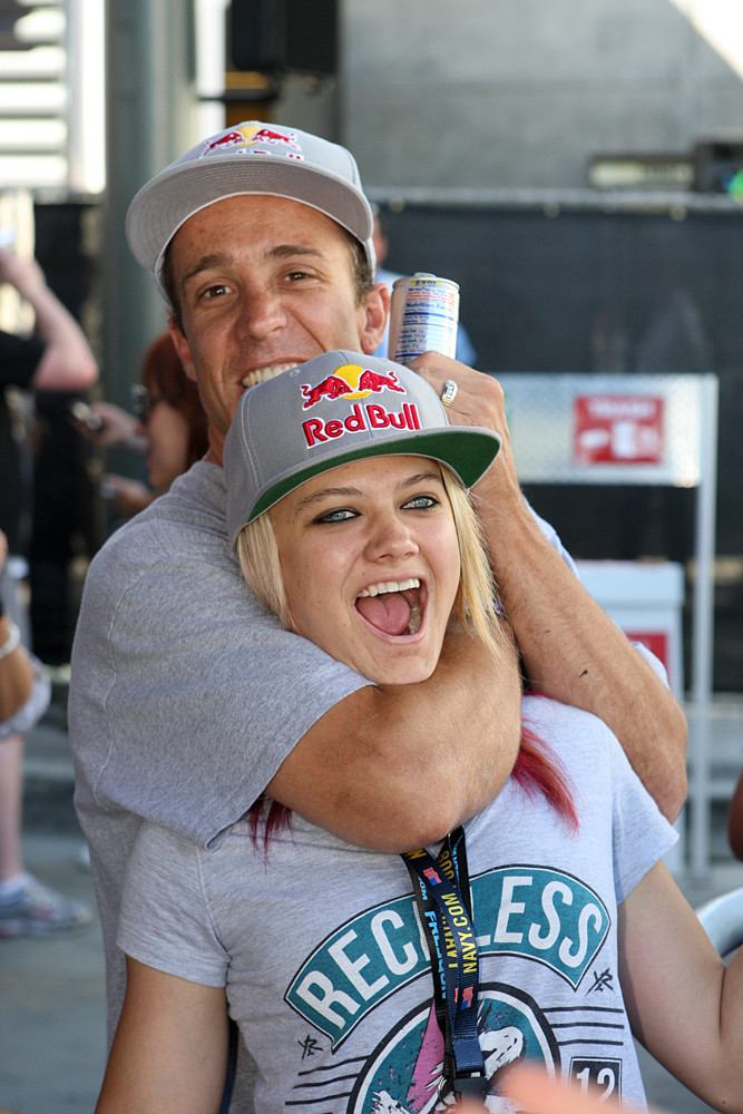 Robbie Maddison and Ashley Fiolek - X Games 2012: Speed and Style - Motocross Pictures - Vital MX