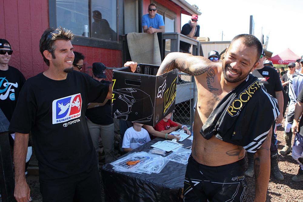 Jeremy Albrecht, Sunny Garcia - 2012 Toyota Surfercross: Day 1 - Motocross Pictures - Vital MX