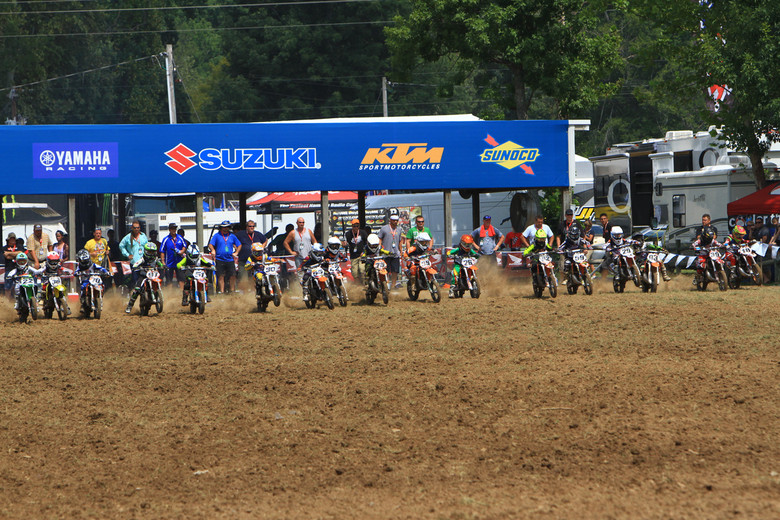 65cc Start - Day 1: 2012 Red Bull AMA Amateur National Motocross Championships  - Motocross Pictures - Vital MX